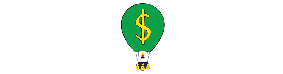 Hot Air Balloon Illustration for Investing Article