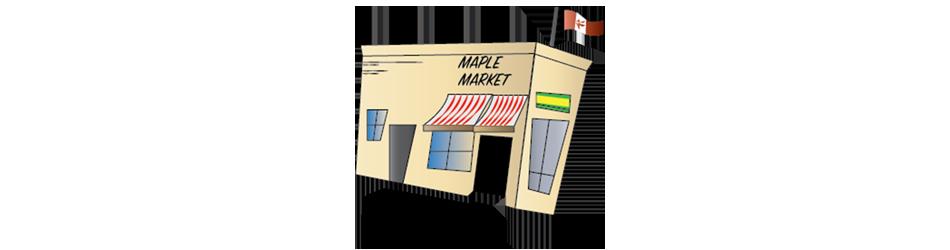 Maple Markets Illustration