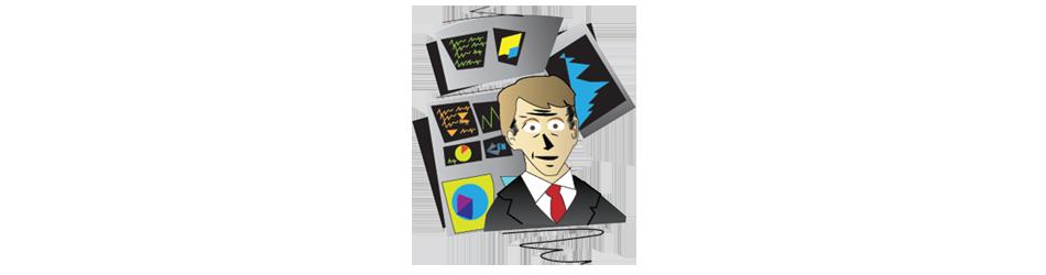 bond salesman Illustration