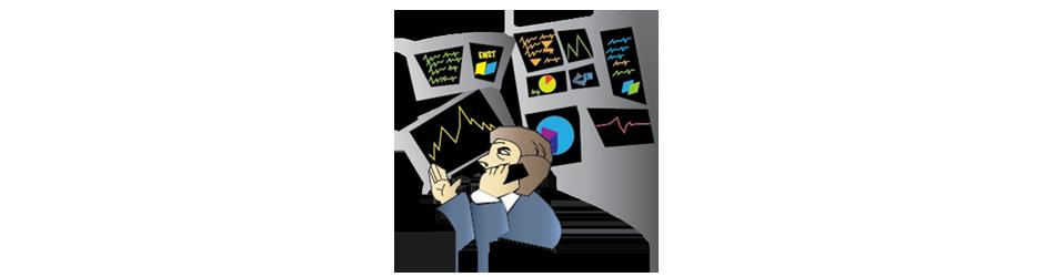 investment dealer jobs bond trader Illustration